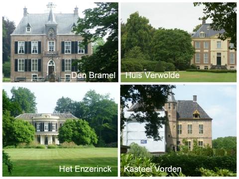 Een van de vele kastelen in de omgeving van Vorden/Laren