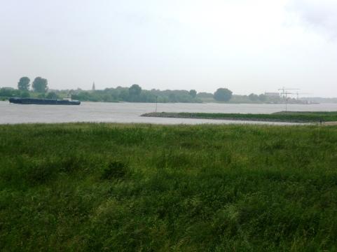 Een laatste blik richting Millingen a/d Rijn