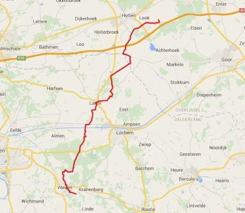 Track Vorden - Laren - Holten